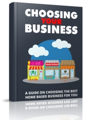 Choosing Your Business eBook with Master Resell Rights/Giveaway