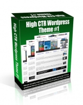 High CTR Wordpress Theme #1 Video with Personal Use Rights