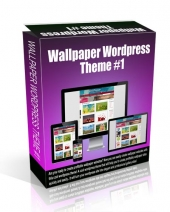 Wallpaper Wordpress Theme #1 eBook with Personal Use Rights