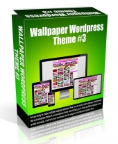 Wallpaper Wordpress Theme #3 Video with Personal Use Rights