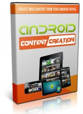 Android Content Creation Video with Master Resell Rights/Giveaway