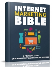 Internet Marketing Bible eBook with Master Resell Rights/Giveaway