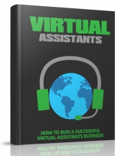 Virtual Assistants eBook with Master Resell Rights/Giveaway