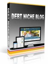 Debt Niche Blog 2015 Wordpress TurnKey for Personal Use (Gold membership) with private label rights