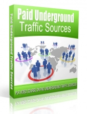 Paid Underground Traffic Sources Video with Private Label Rights