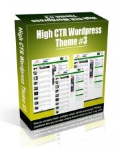 High CTR Wordpress Theme #3 Video with Personal Use Rights