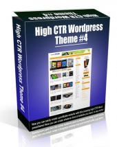 High CTR Wordpress Theme #4 Video with Personal Use Rights