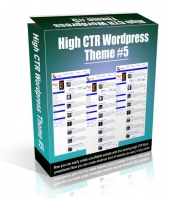 High CTR Wordpress Theme #5 Video with Personal Use Rights