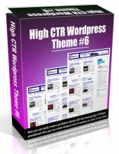 High CTR Wordpress Theme #6 Video with Personal Use Rights