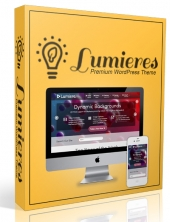 Lumieres Wordpress Theme Template with Master Resell Rights