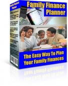 Family Finance Planner Software with Resell Rights