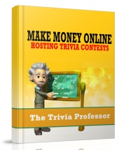 Make Money Hosting Trivia Contests eBook with Giveaway Rights