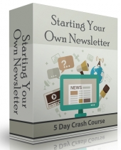 Starting Your Own Newsletter eBook with Private Label Rights