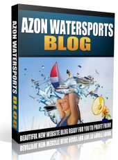Azon Water Sports Blog 2015 eBook with Private Label Rights