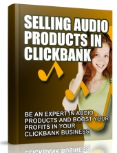 Selling Audio Products in Clickbank eBook with Master Resell Rights
