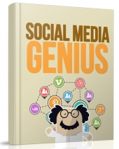 Social Media Genius eBook with Resell Rights