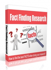 Fact Finding Research Video with Master Resell Rights/Giveaway