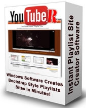 YouTubeR Playlist Creator Software with Resell Rights