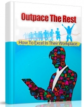Outpace The Rest eBook with private label rights