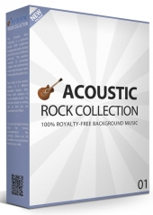 Acoustic Rock Band Collection V1 Audio with Personal Use Rights