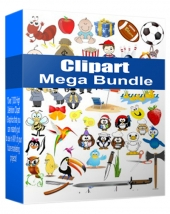 Clipart Mega Bundle 2015 Graphic with Personal Use Rights/Developers Rights