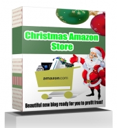 Christmas Amazon Store Template with private label rights