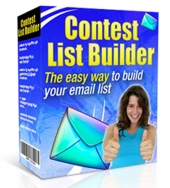 Contest List Builder Software 2015 Software with Master Resell Rights/Giveaway Rights