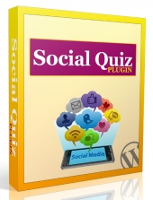 Social Quiz WordPress Plugin Software with Personal Use Rights