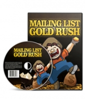 Mailing List Gold Rush Video with Personal Use Rights