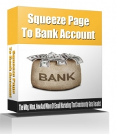 Squeeze Page To Bank Account eBook with Resell Rights