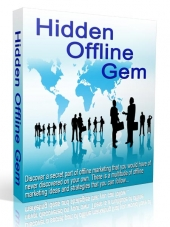 Hidden Offline Gem eBook with Resell Rights
