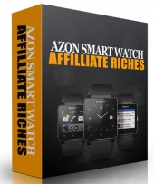 Azon Smart Watch Affiliate Riches Video with Resell Rights
