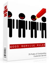 Customer Service Rules eBook with Personal Use Rights