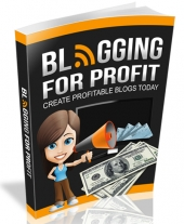 Blogging For Profit 2015 eBook with Resell Rights