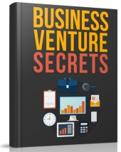 Business Venture Secrets eBook with Master Resell Rights/Giveaway
