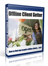Offline Client Getter eBook with private label rights
