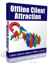 Offline Client Attraction eBook with private label rights