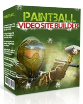 Paintball Video Site Builder Software with Master Resell Rights/Giveaway