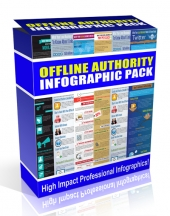 Offline Authority Infographic Pack Graphic with Personal Use Rights