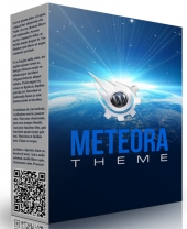 Meteora WordPress Theme Template with Master Resell Rights