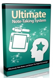 Ultimate Note Taking System Video with Private Label Rights