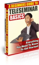 A Beginners Guide To Teleseminar Basics eBook with private label rights