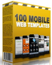 100 Mobile Web Templates 2015 Template with Master Resell Rights