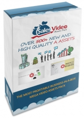 Sales Video Assets Video with Private Label Rights