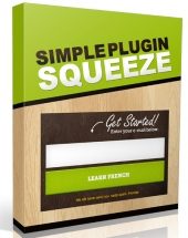 Simple Squeeze Page Plugin Software with private label rights