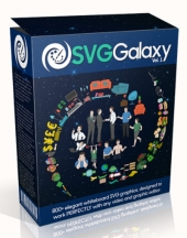 SVG Galaxy Graphic with Personal Use Rights/Developer Rights