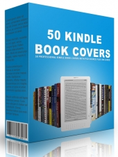 50 Kindle Book Covers Graphic with Personal Use Rights/Developer Rights