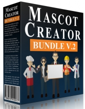 Mascot Creator Bundle Graphic with private label rights