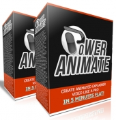 Power Animate V1 Graphic with Personal Use Rights/Developer Rights