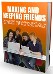 Making And Keeping Friends eBook with private label rights